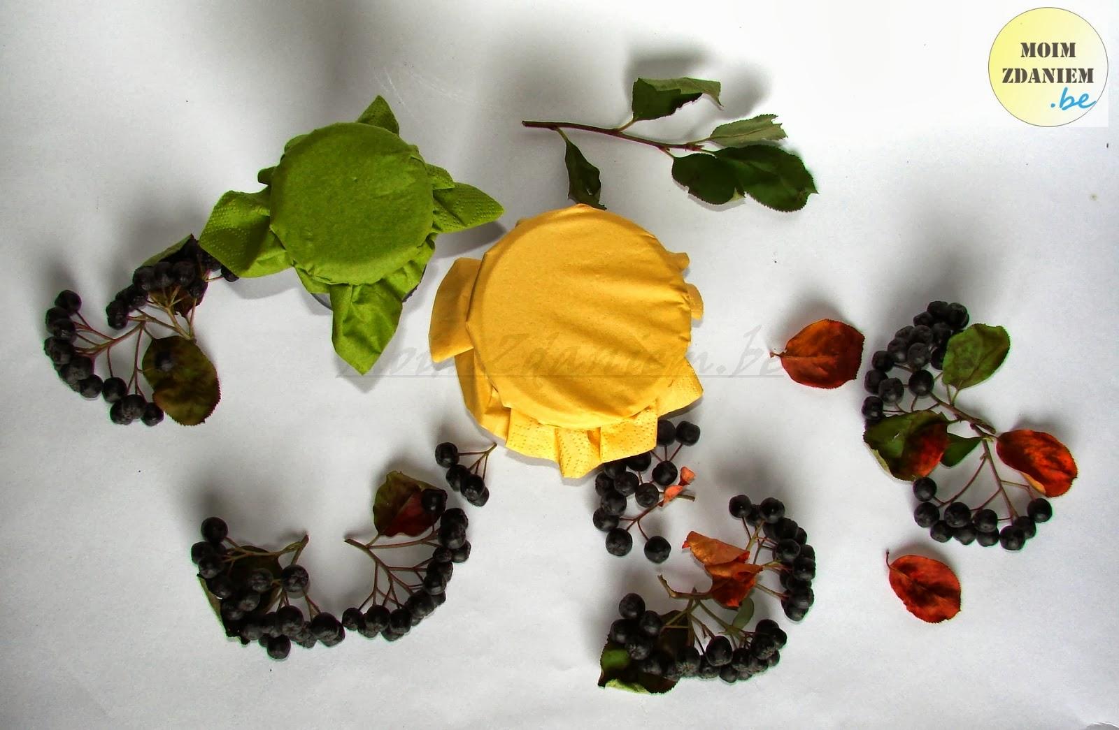 dżem z aronii słoiczki