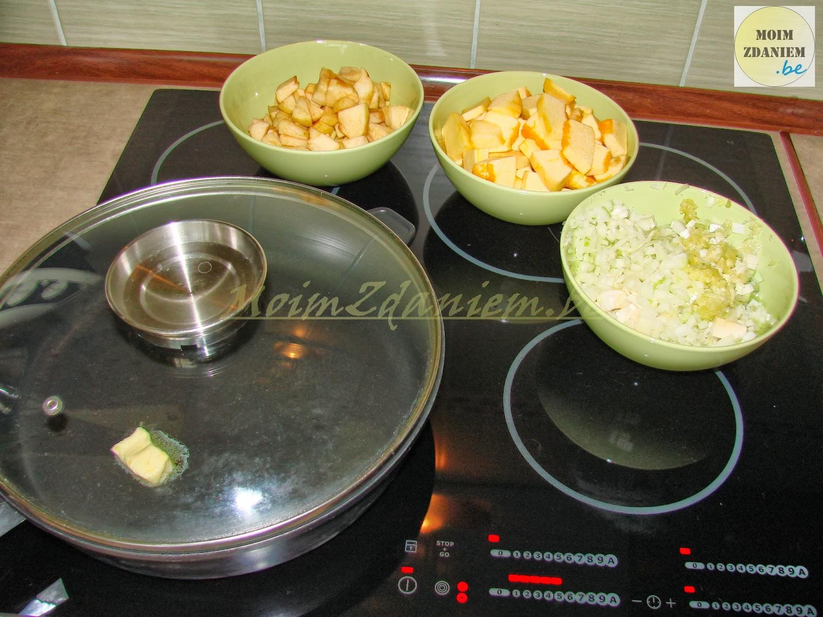 zupa krem z dyni składniki