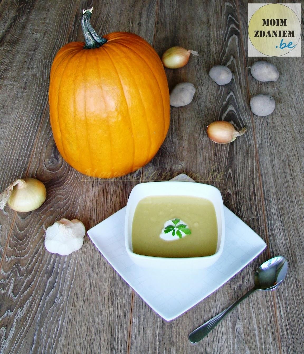 zupa krem z dyni propozycja podania