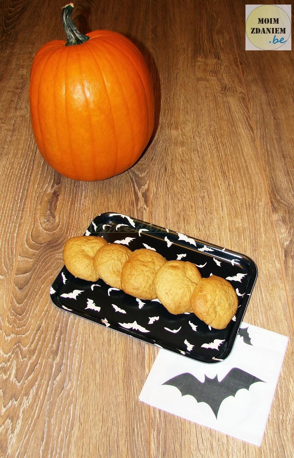 ciasteczka dyniowe na halloween