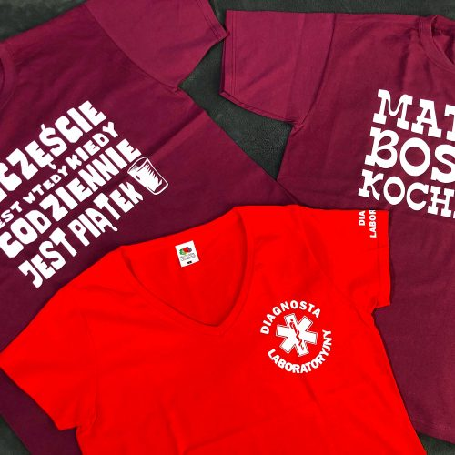 Koszulki z napisami jako pomysł na prezent gwiazdkowy